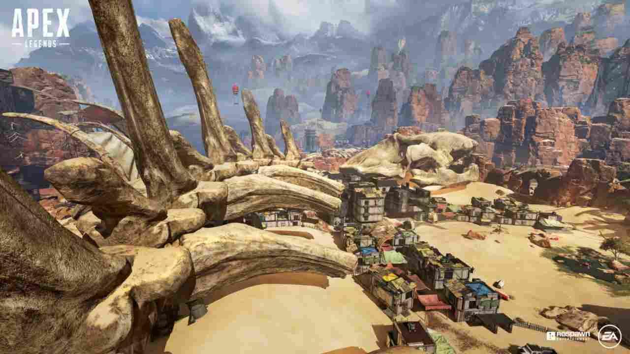 Perchè sono cambiate le mappe di Apex Legends?