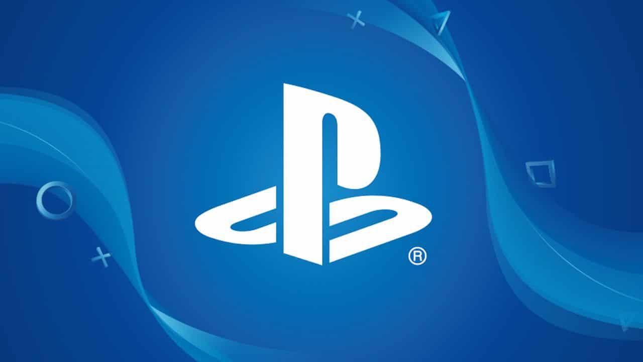 Playstation logo blu