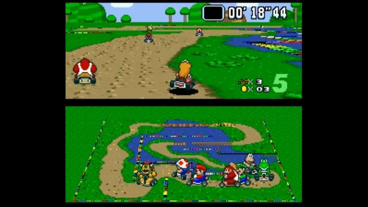 Super Mario Kart, modder riporta in vita il track editor ufficiale