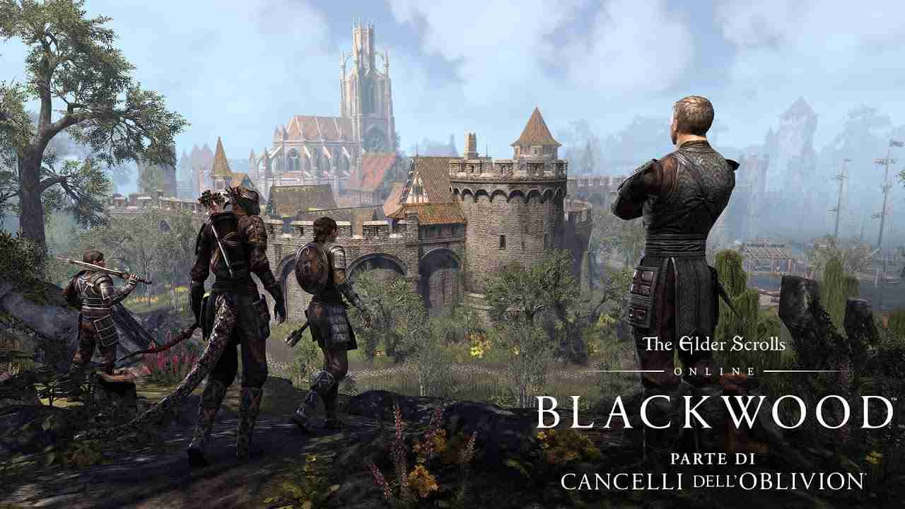 The Elder Scrolls Online Blackwood gameplay