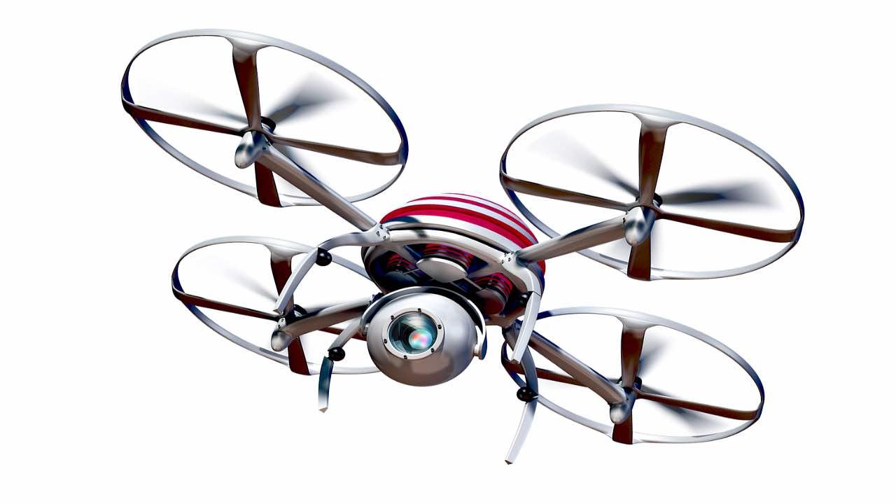 Vulcano drone