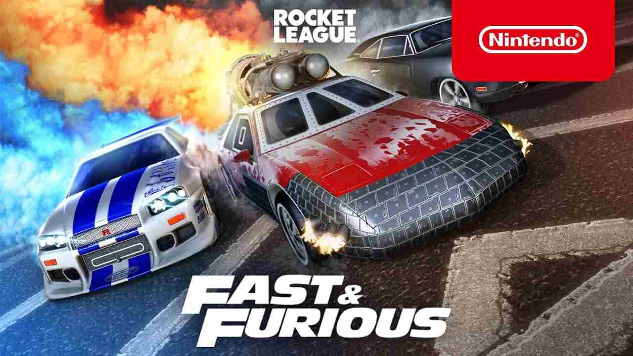 rocket league fast & furious