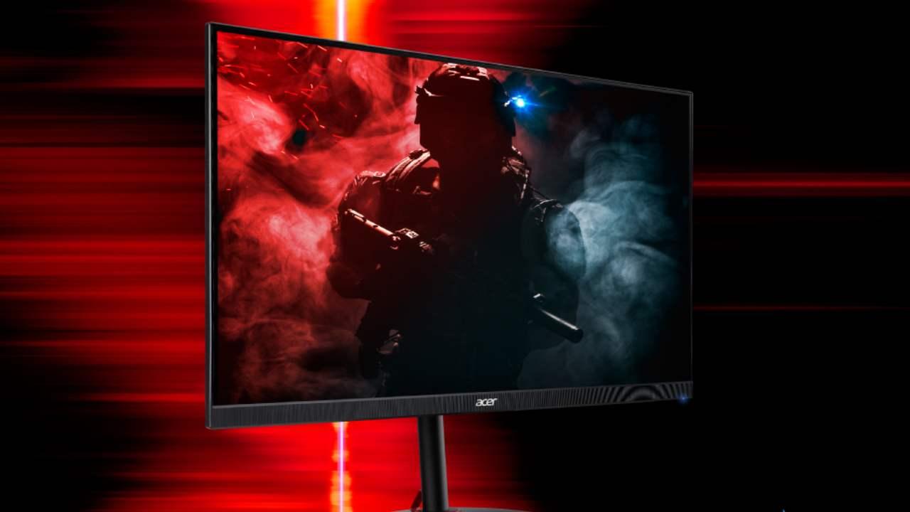 Acer Nitro, presentato il nuovo display gaming a un passo dai 400 Hz