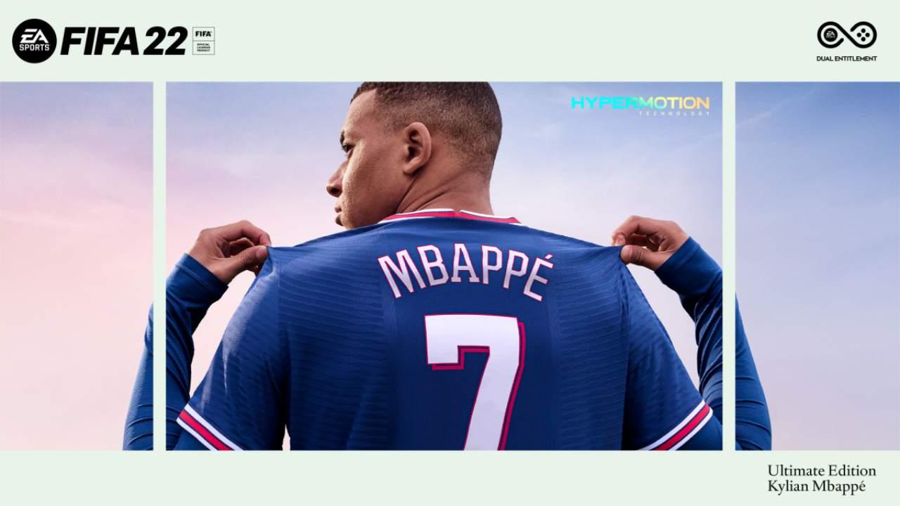 FIFA 22 Mbappé Ultimate