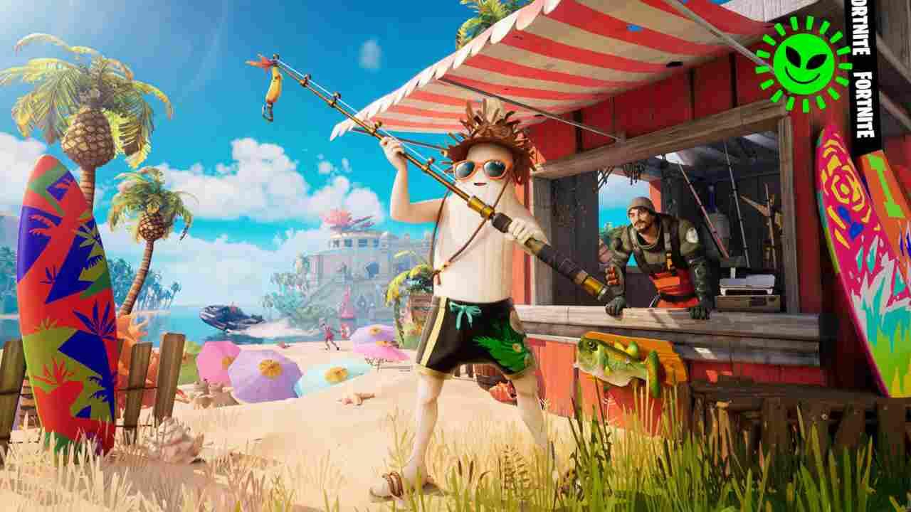 Fortnite, pronto aggiornamento ispirato a Final Fantasy?