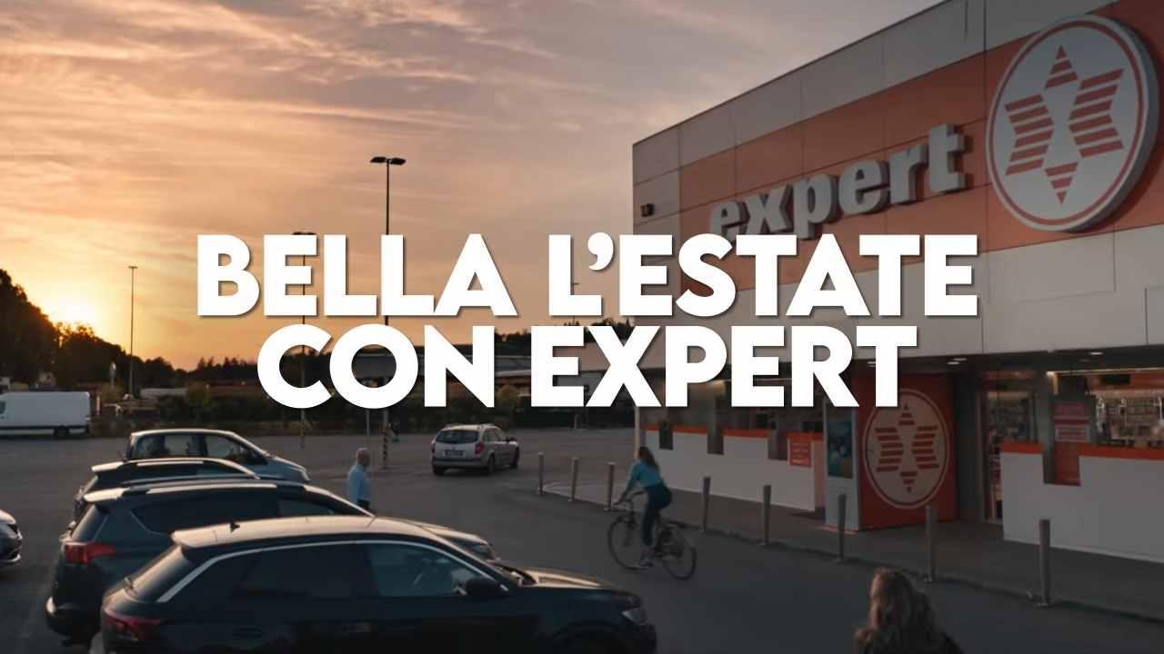 Volantino Expert, arriva la Bella Estate con la TV in regalo