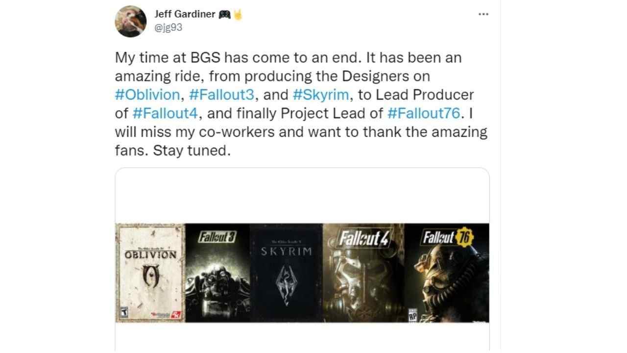 "Malas noticias para Fallout, el director se va: ""Voy a extrañar"""