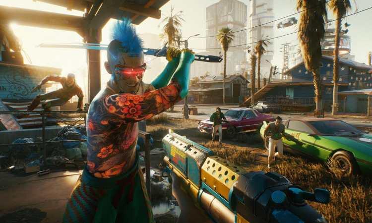 Lotta di strada Cyberpunk 2077 DLC