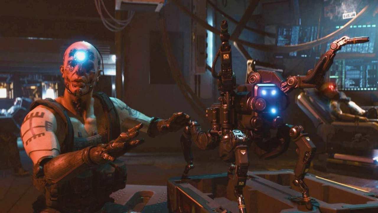 Cyberpunk 2077 drone