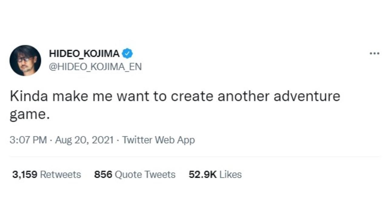 """Hideo Kojima stuzzica i fan: """"Vorrei creare un nuovo gioco!"""""""