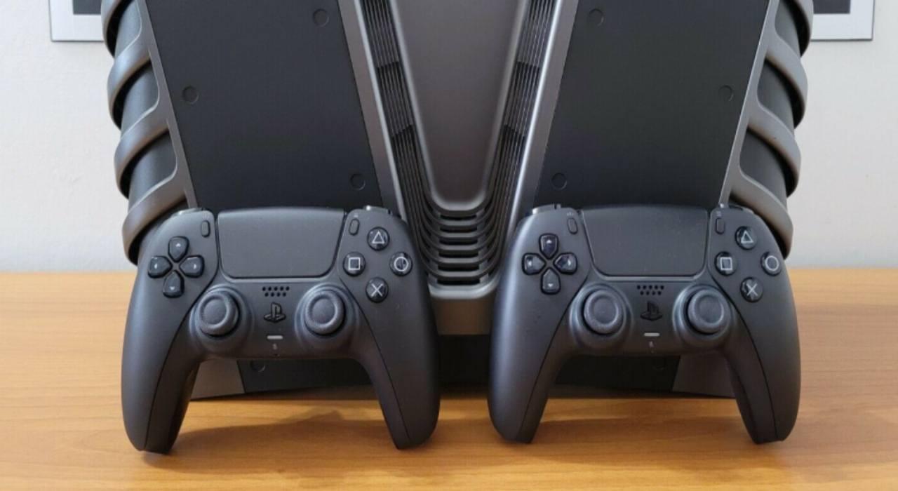 PS5 dev kit nero