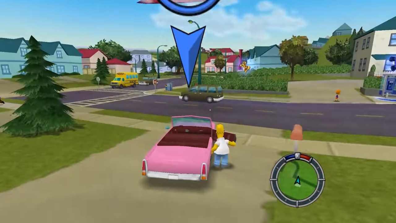 Simpsons Hit & Run Remake con Unreal Engine - VIDEO