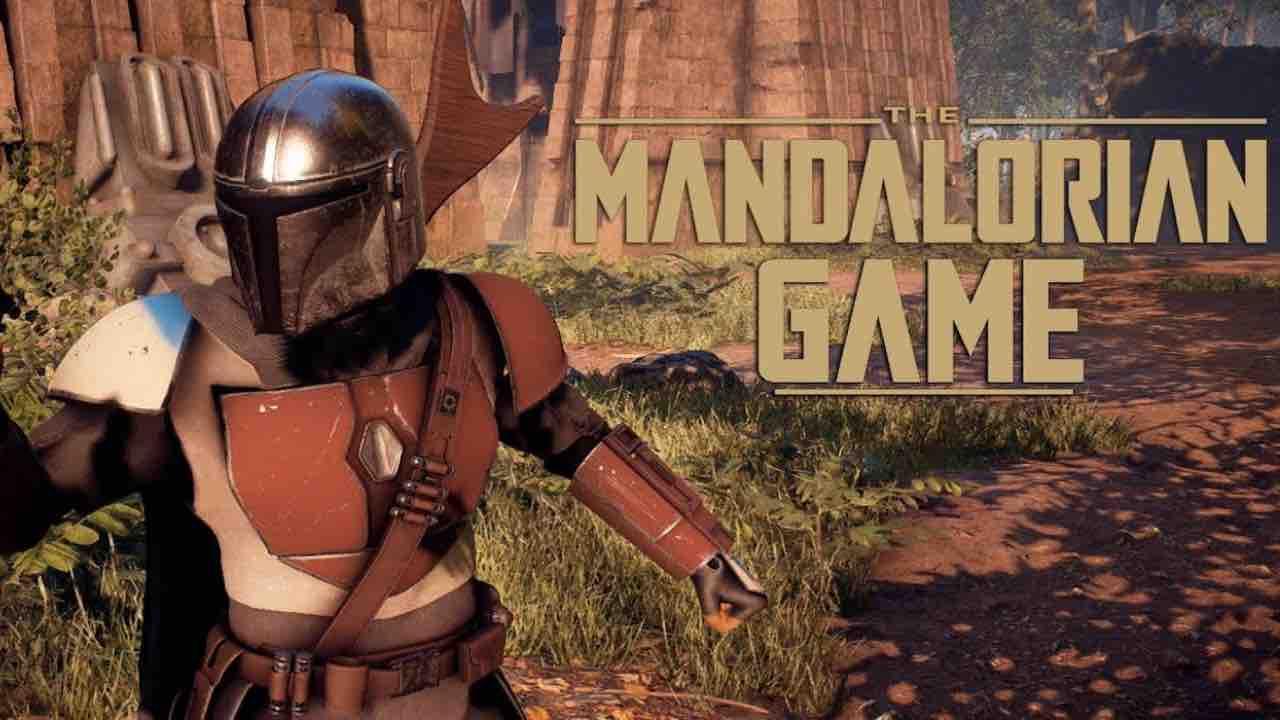 the mandalorian videogioco