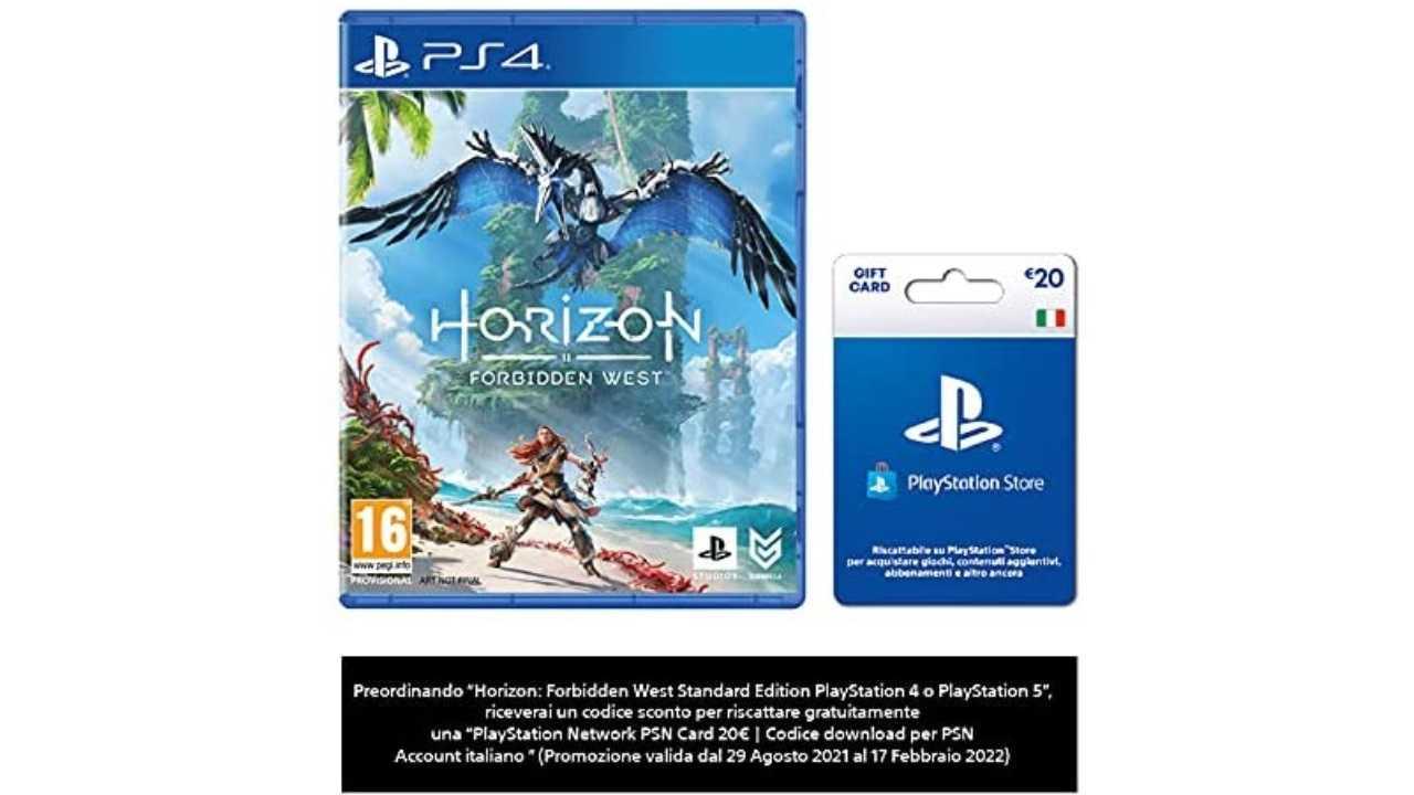 20€ in regalo comprando Horizon Forbidden West: ecco come