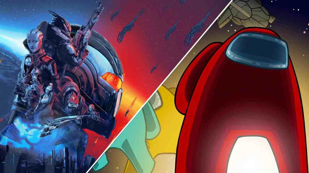 Among Us e Mass Effect: sembra un altro gioco - VIDEO