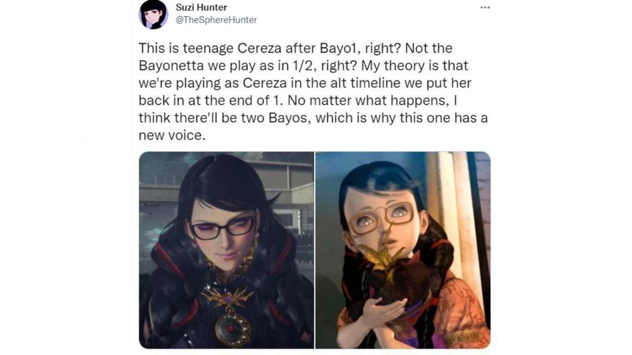 Bayonetta 3, Nintendo mente sul gioco: la strana teoria