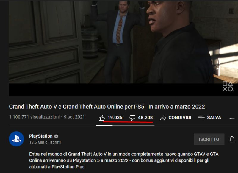 GTA V video ufficiale Playstation
