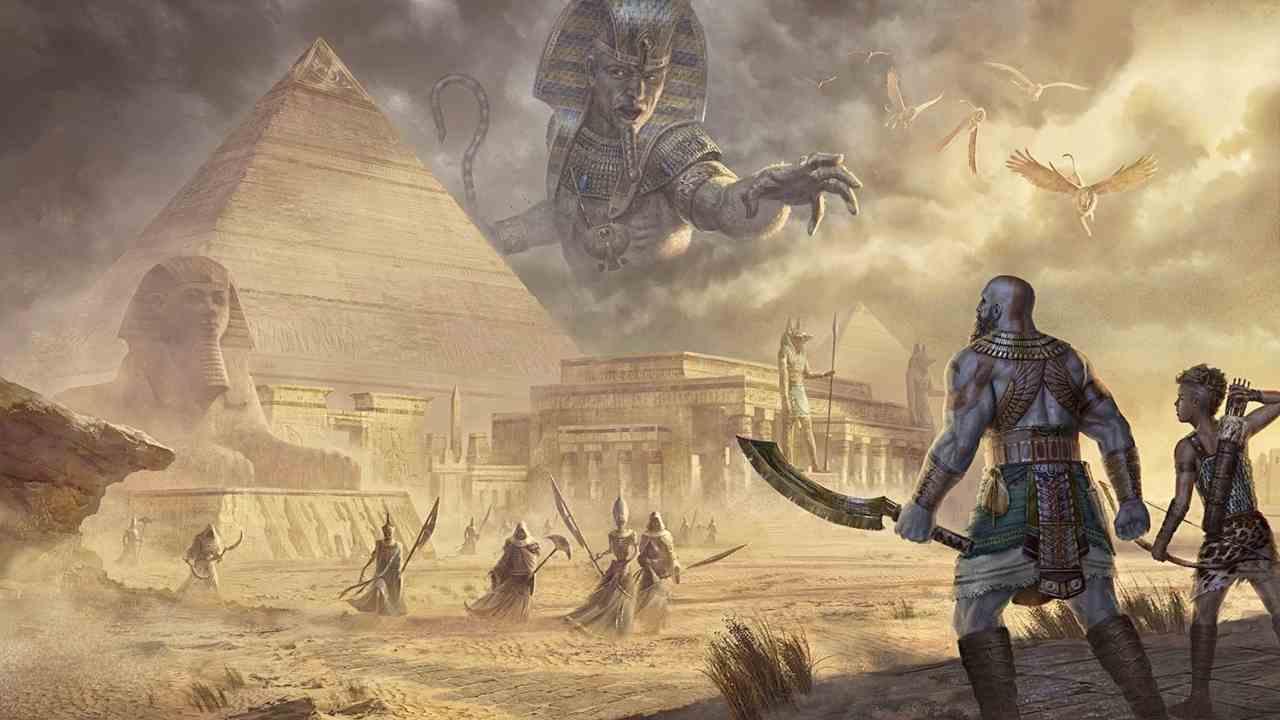 God of War Egypt, il concept è faraonico - FOTO