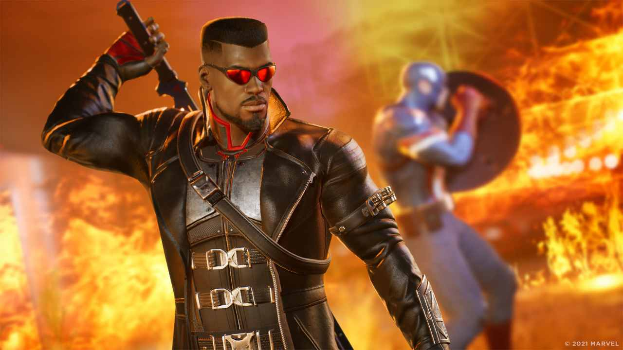 Marvel's Midnight Suns Blade