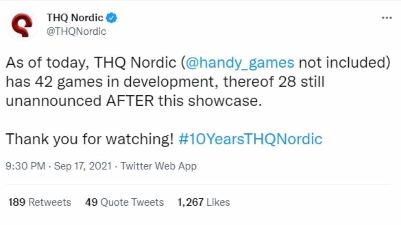 """""""Stiamo lavorando a 42 giochi, 28 segreti"""", annuncia THQ"""