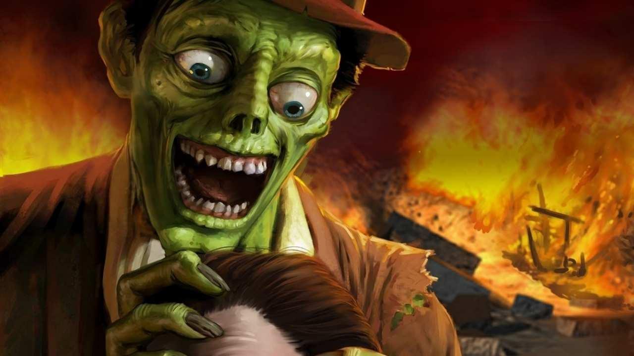 Zombie scoreggione